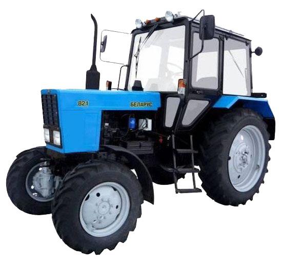 Аренда трактора с МТЗ щеткой в СПб по низкой цене
